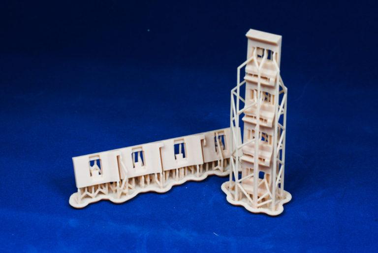 Прототип фиксатораФотополимер модельный