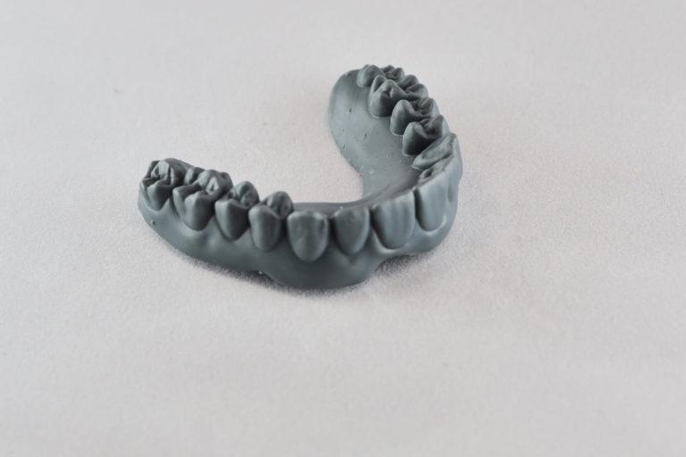 Стоматологическая модель для элайнеров  Фотополимер Gray