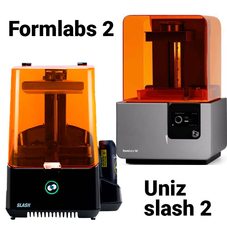 Выбор между Formlabs и Uniz Slash 2